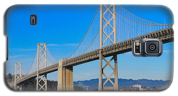 Bay Bridge With Apl Houston Galaxy S5 Case