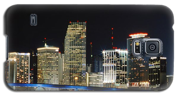 Bay Front Miami Skyline Galaxy S5 Case