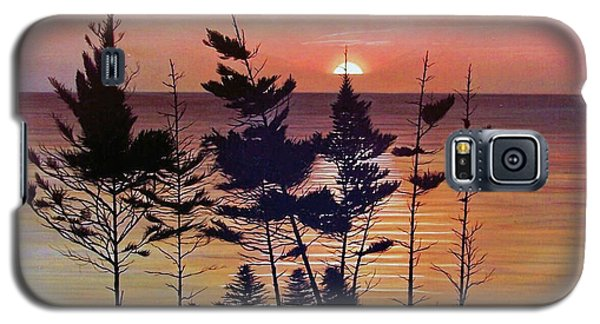 Bay Of Fundy Sunset Galaxy S5 Case
