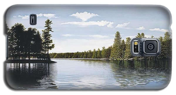 Bay On Lake Muskoka Galaxy S5 Case