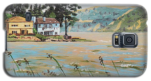 Bay Scenery With Houses Galaxy S5 Case