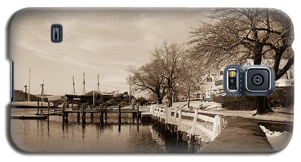 Bay Street In Winter - Mystic Ct Galaxy S5 Case