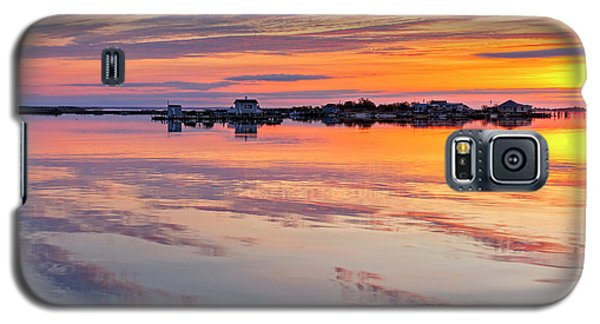 Bay Sunrise Galaxy S5 Case by Mike Lang