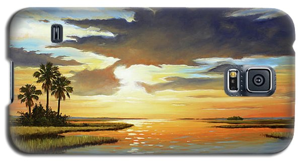 Bay Sunset Galaxy S5 Case by Rick McKinney