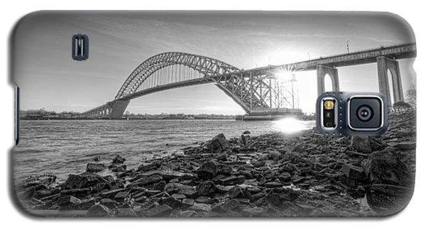 Bayonne Bridge Black And White Galaxy S5 Case
