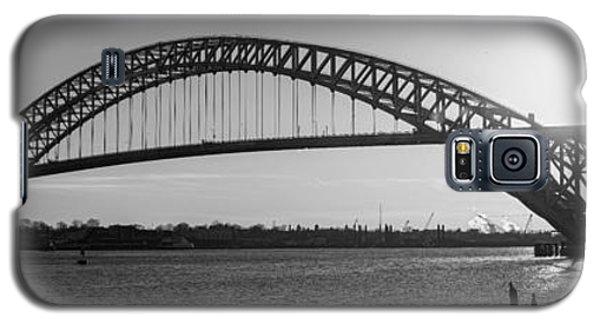 Bayonne Bridge Panorama Bw Galaxy S5 Case