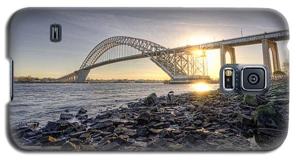 Bayonne Bridge Sunset Galaxy S5 Case