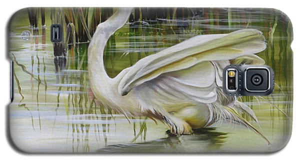 Bayou Caddy Great Egret Galaxy S5 Case