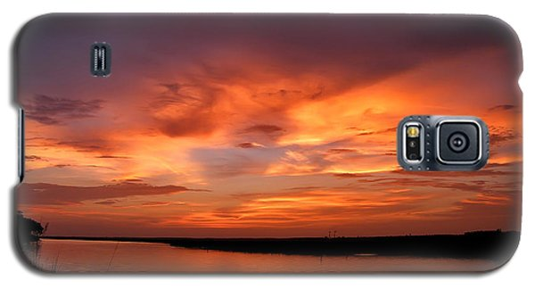 Bayou Sunset Galaxy S5 Case by Brian Wright