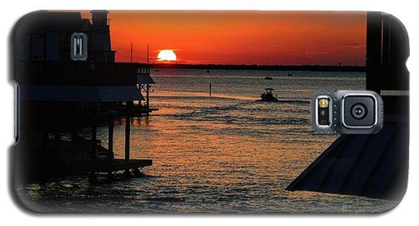 Bayou Vista Sunset Galaxy S5 Case