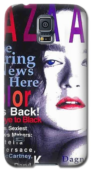 Bazaar Magazine Cover Galaxy S5 Case