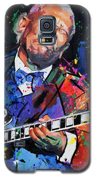 Bb King Portrait Galaxy S5 Case by Richard Day