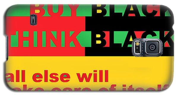 Be Black Rbg Galaxy S5 Case