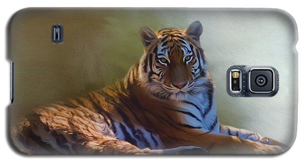 Be Calm In Your Heart - Tiger Art Galaxy S5 Case