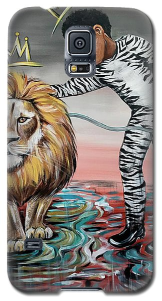 Galaxy S5 Case - Be Courageous My Son by Artist RiA