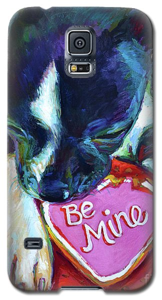 Galaxy S5 Case featuring the painting Be Mine by Robert Phelps