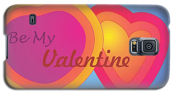 Galaxy S5 Case featuring the digital art Be My Valentine Card by Sherril Porter