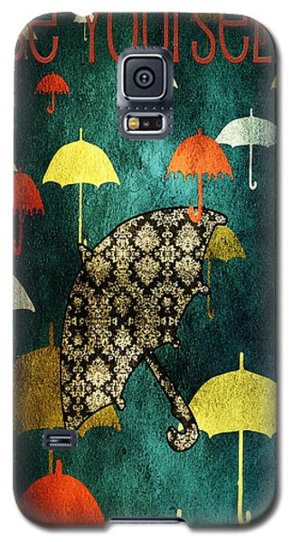 Be Yourself - Large Format Galaxy S5 Case