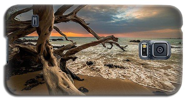 Galaxy S5 Case featuring the photograph Beach 69 by Allen Biedrzycki