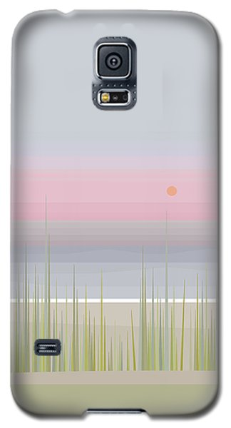 Beach Abstract - Vertical Galaxy S5 Case