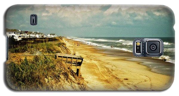 Beach At Corolla Galaxy S5 Case