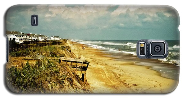 Beach At Corolla Galaxy S5 Case