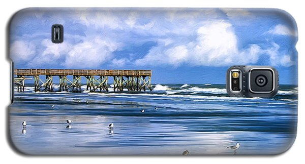 Beach At Isle Of Palms Galaxy S5 Case by Dominic Piperata