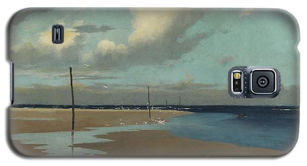 Beach At Low Tide Galaxy S5 Case by Frederick Milner