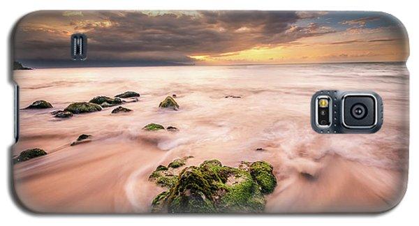 Beach At Paia Galaxy S5 Case