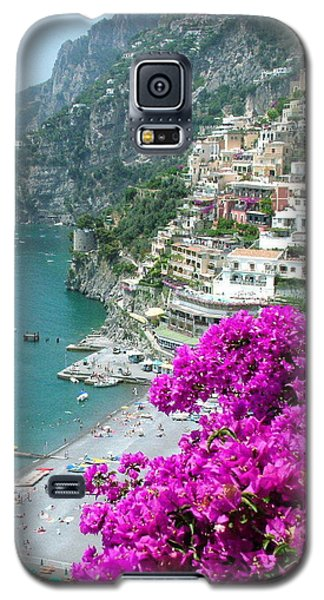 Beach At Positano Galaxy S5 Case