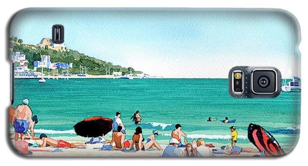 Beach At Roses, Spain Galaxy S5 Case