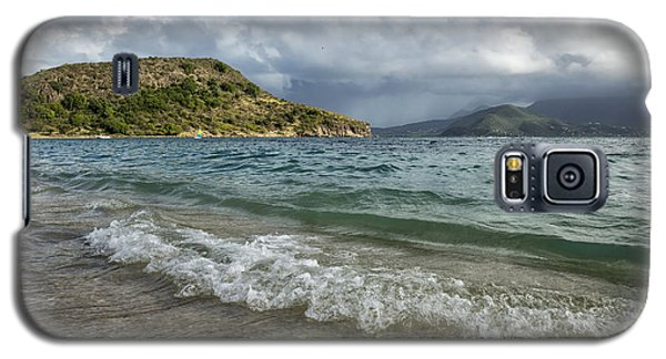 Beach At St. Kitts Galaxy S5 Case