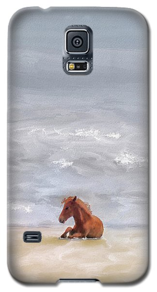 Galaxy S5 Case featuring the photograph Beach Baby by Lois Bryan