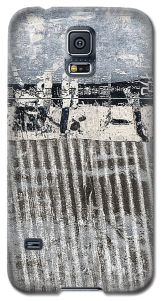 Galaxy S5 Case featuring the photograph Beach Barrier Abstract by Carol Leigh