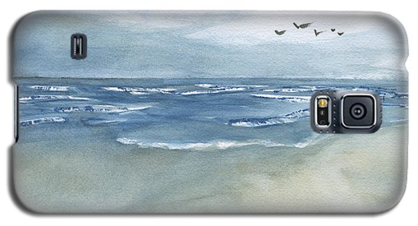 Beach Blue Galaxy S5 Case by Frank Bright