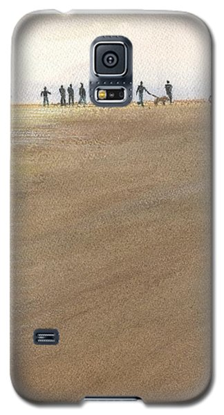 Beach Bocce Bikes Galaxy S5 Case