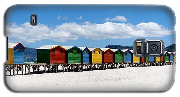 Beach Cabins  Galaxy S5 Case