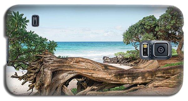 Beach Camping Galaxy S5 Case