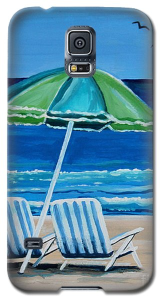 Beach Chair Bliss Galaxy S5 Case