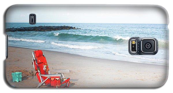 Beach Chair By The Sea Galaxy S5 Case