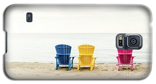 Beach Chairs Galaxy S5 Case