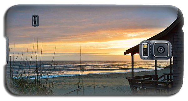 Beach Cottage Sunrise  Galaxy S5 Case