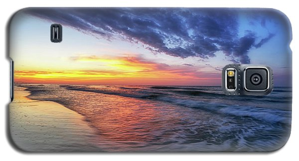 Beach Cove Sunrise Galaxy S5 Case