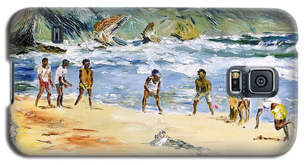 Beach Cricket Galaxy S5 Case