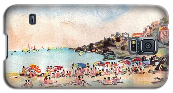 Beach Day At Puerto Vallarta Galaxy S5 Case by Sharon Mick