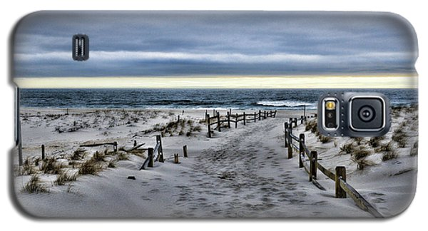 Galaxy S5 Case featuring the photograph Beach Entry by Paul Ward