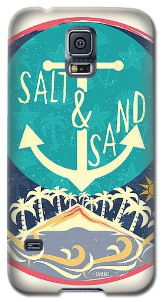 Beach Galaxy S5 Case by Famenxt DB