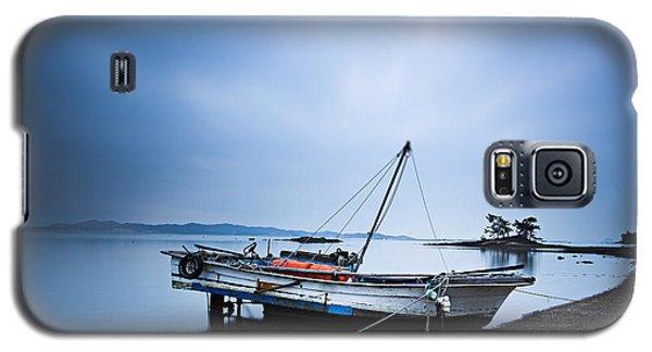 Beach Fishing Boat Galaxy S5 Case