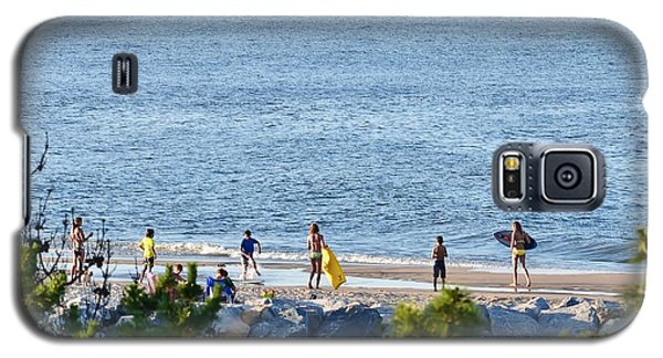 Beach Fun At Cape Henlopen Galaxy S5 Case