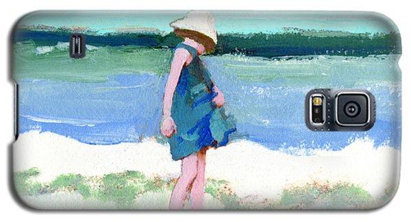 Beach Girl Galaxy S5 Case